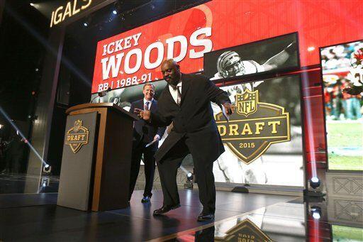 El ex fullback de los Cincinnati Bengals, Ickey Woods, realizó su famoso...