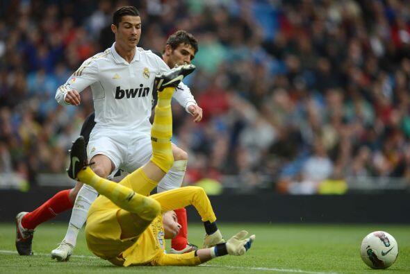El portugués Cristiano Ronaldo, actual 'Pichichi' de la Liga puso el 1-0.
