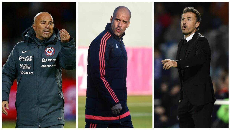 Sampaoli, Guardiola y Luis Enrique optarán al premio de mejor entrenador