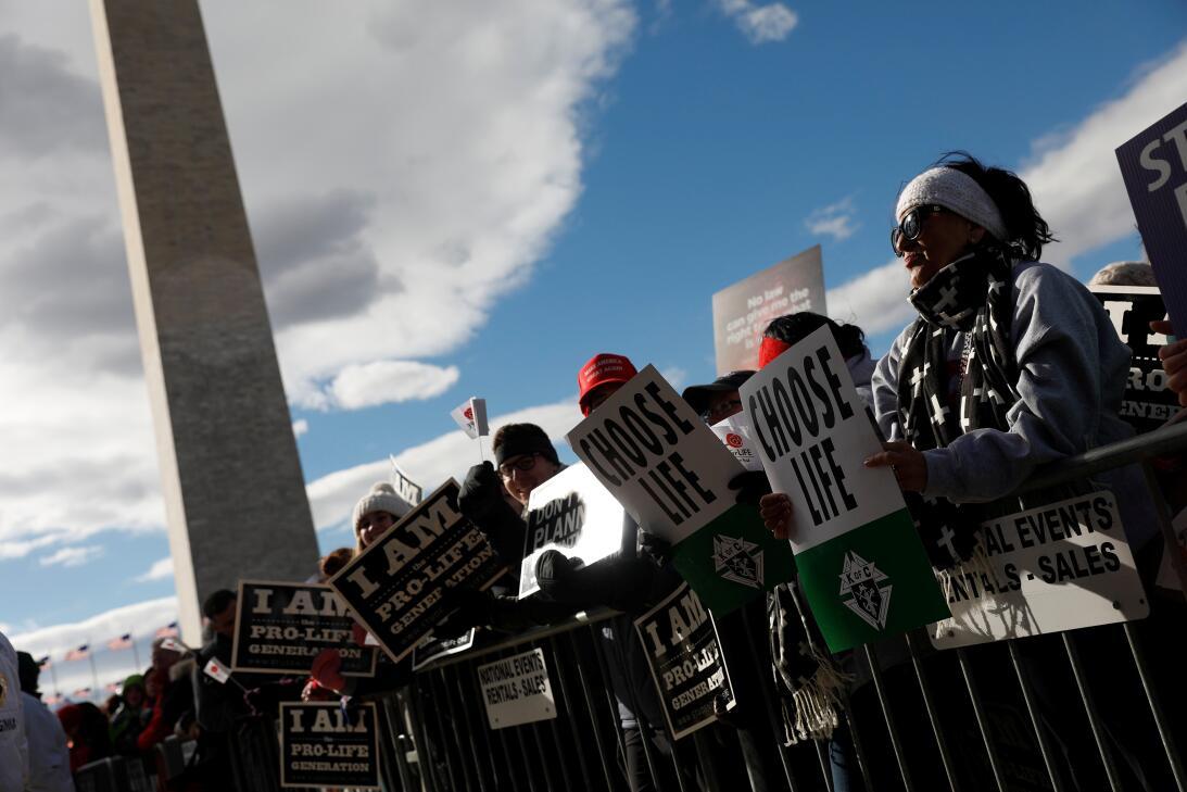 En fotos: la Marcha por la Vida salpicada por la política tras la partic...
