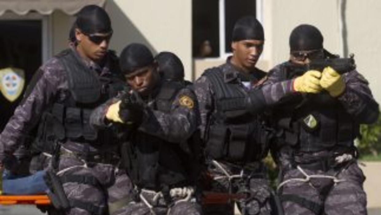 Policía de República Dominicana.