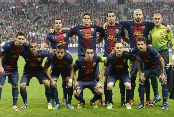 El único problema que podía tener era que enfrente estaba el Barcelona,...