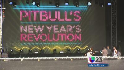 Pitbull encabezará la celebración de fin de año en Miami