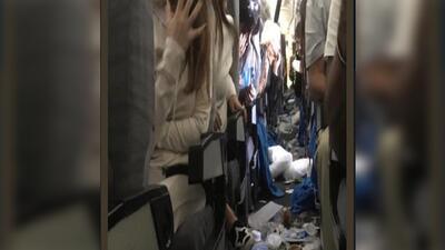 Pánico en el aire: fuerte turbulencia deja 15 personas heridas en un vuelo de Miami a Buenos Aires