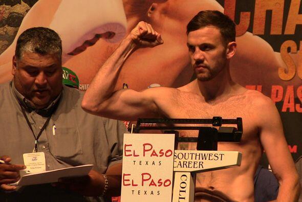 Andy Lee, por su parte, tratará de ganar el título con un peso de 129.25...