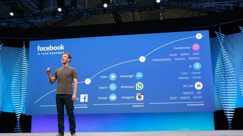 Mark Zuckerberg y su plan a diez años para Facebook