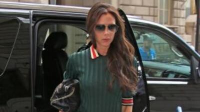 Las obligaciones profesionales y personales de Victoria Beckham, no le p...