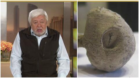 Jaime Maussan presenta supuesto hallazgo extraterrestre en tumba prehisp...