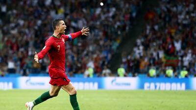 Cristiano Ronaldo, la figura del Mundial tras la primera jornada