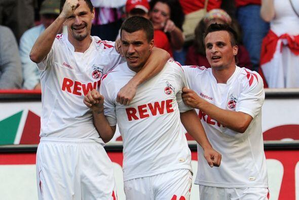 Para 'Prinz' Podolski es su segunda etapa con el Colonia, ya que estuvo...