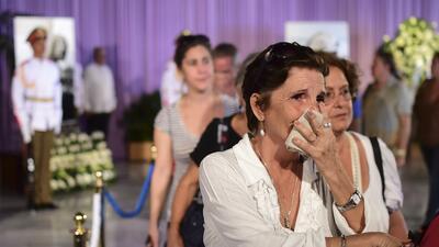 En fotos: El primer día de los funerales de Fidel Castro