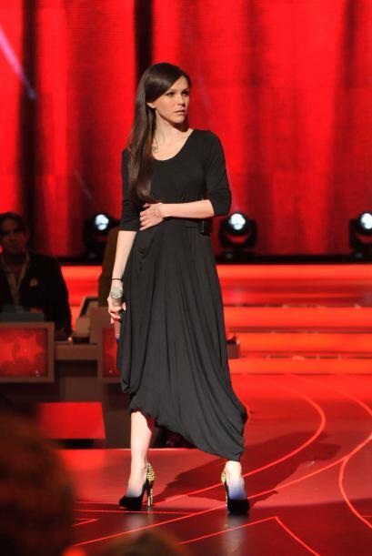 La cantante y actriz Kika Edgar fue la última estrella que se presentó d...