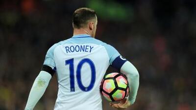 Rooney se despedirá de la selección inglesa en amistoso ante EEUU