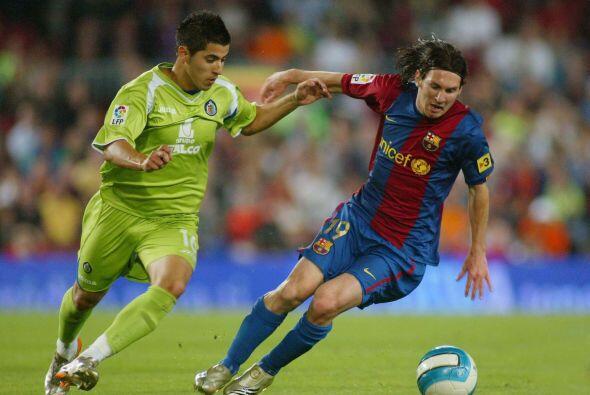 Leo captaría la atención de todo el mundo con el gol que le metió al Get...