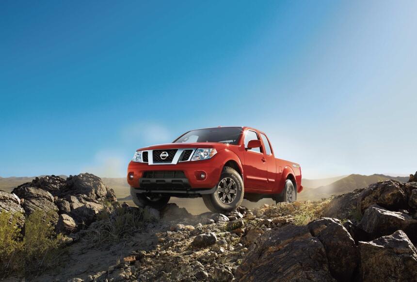 La tercera pick up Nissan disponible este año en el mercado es la Fronti...