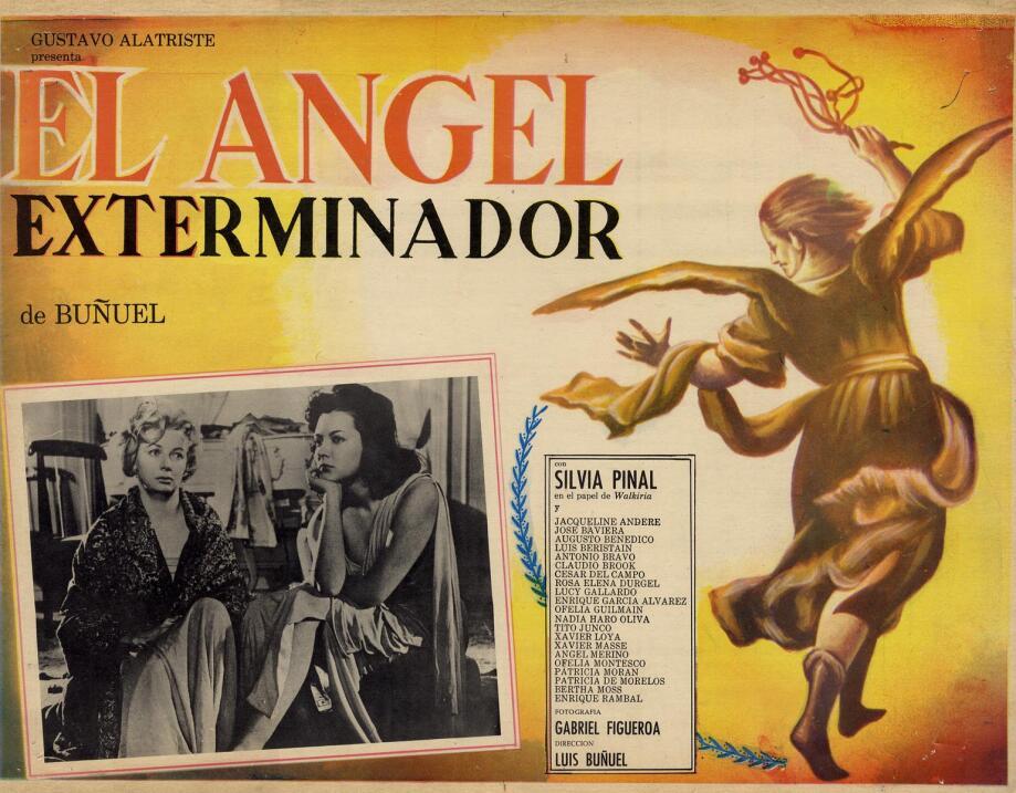 El ángel exterminador(1962), MéxicoDirector: Luis BuñuelGuión: Luis Buñu...