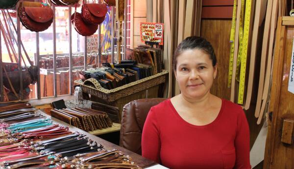Guadalupe Murillo encontró el amor en la Plaza Olvera.