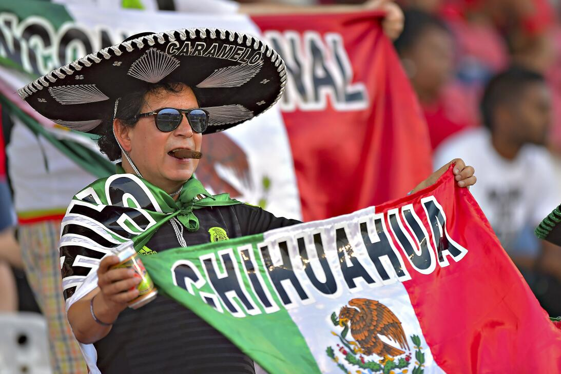 La afición más apasionada en el Trinidad y Tobago 0-1 México en imágenes...