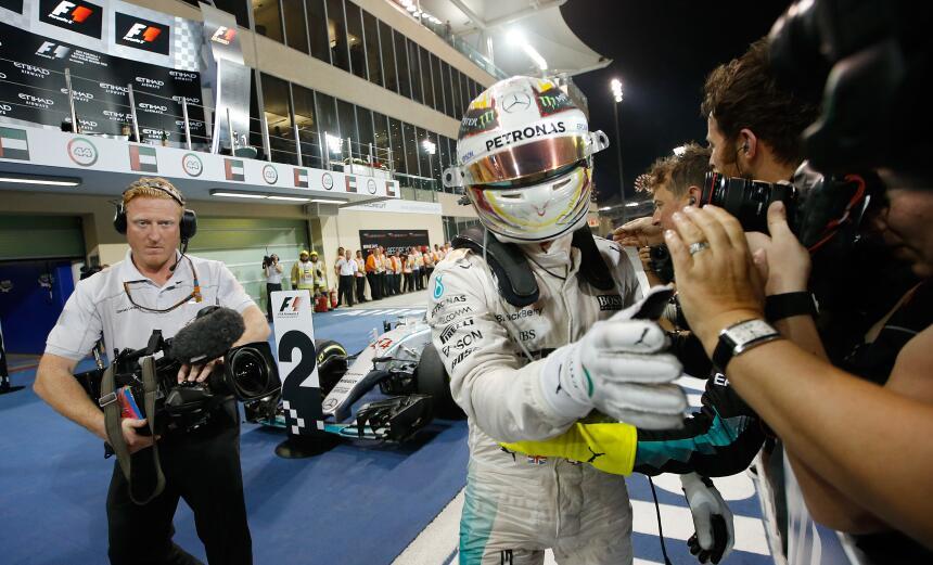 Lewis Hamilton tricampeón de Fórmula Uno tras ganar en Austin - El inglé...