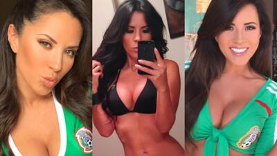 Magda Ángel, una espectacular colombiana que le va al 'Tri'