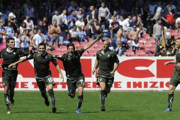 Sin embargo, un autogol de Aronica le devolvió el triunfo parcial a Lazio.