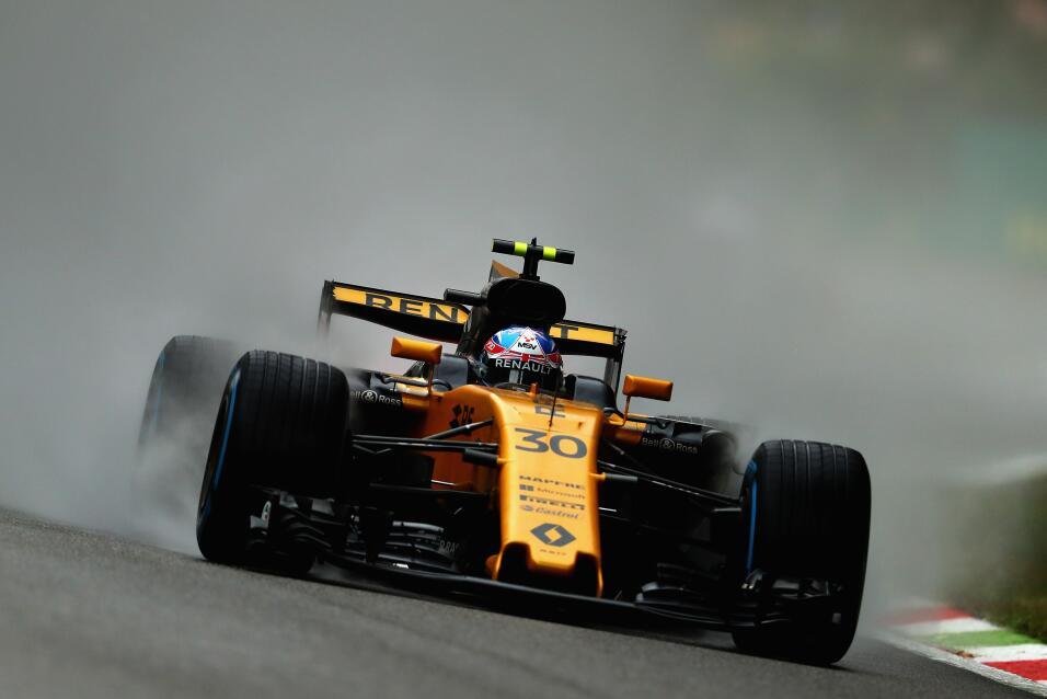 17. Joylon Palmer (Renault) - Mejor tiempo: 1:40.646 / 10 vueltas