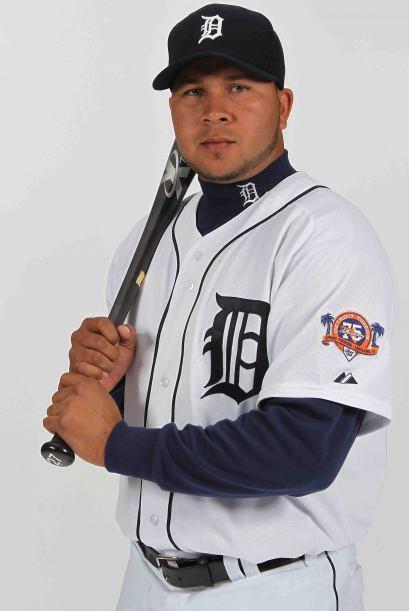 Parador en corto: Johnny Peralta de los Tigres de Detroit. Un dominicano...
