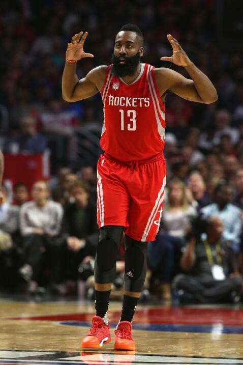 9- James Harden, número 13, Houston Rockets    Estadísticas 2016-201728....