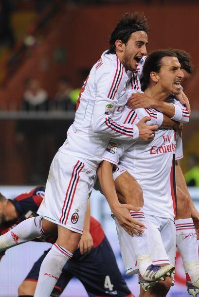 Y el Milan lo disfruta.