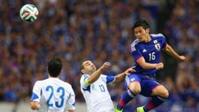 Japón se impuso a Chipre aunque no se vio en buena forma.