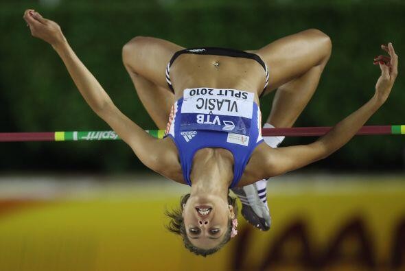 La croata Blanka Vlasic es especialista en salto de altura. Nació el 8 d...