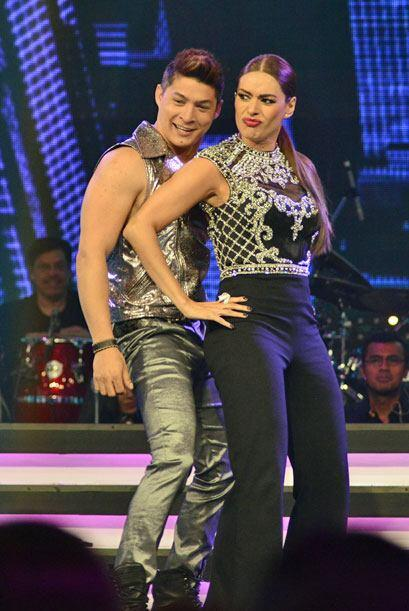 Tras caerse en la semana dos, Gali volvió a bailar con Danny Montejo par...