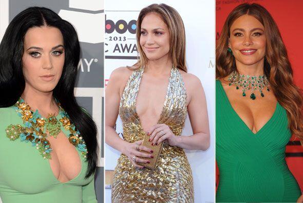 Salma Hayek, Rihanna y Jennifer Lopez, entre muchas otras, nos sorprendi...