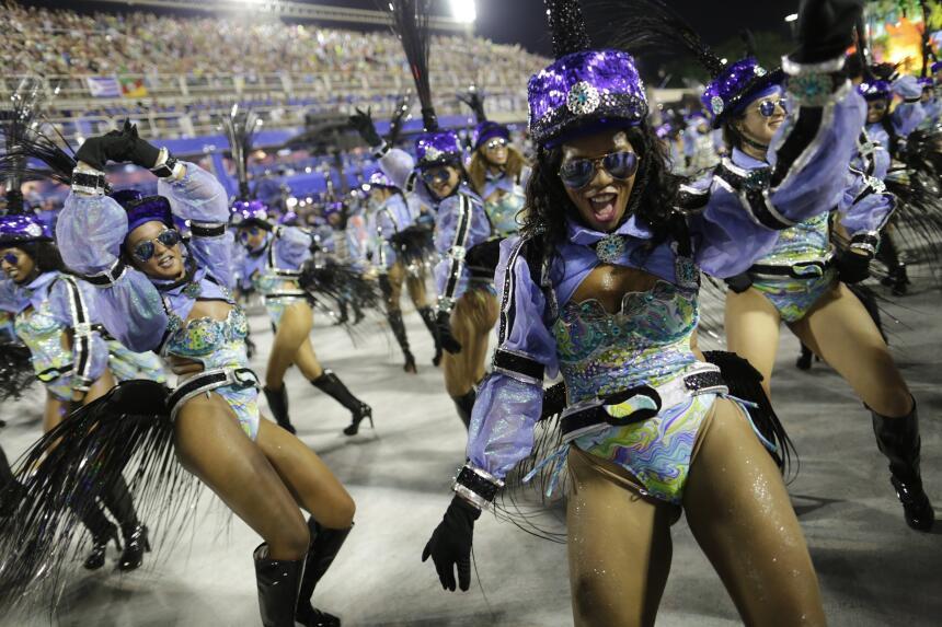 El Sambódromo de Río de Janeiro volvió estallar en música, color y fiest...