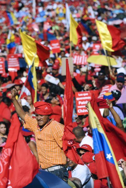 Algunas personas sospechan que Chávez ha sido diagnosticado con u...