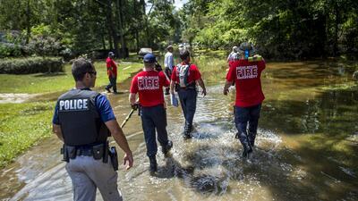 Destrucción y muerte: Las fotos de lo que dejaron las lluvias en Louisiana