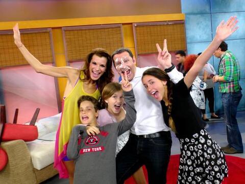 En su cumple del 2014, toda su familia llegó a casita para festej...