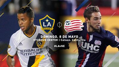 LA Galaxy vs New England Revolution