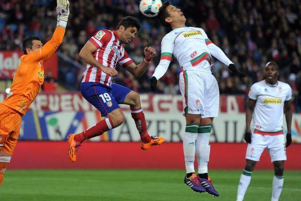 Los 'Colchoneros' no pudieron marcar gol alguno en toda la primera parte.