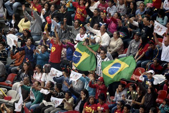 Aquí los representates de Brasil.