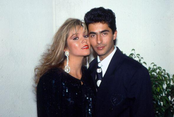"Daniela Castro y Raúl Araiza eran la pareja estelar de ""Cadenas de Amarg..."