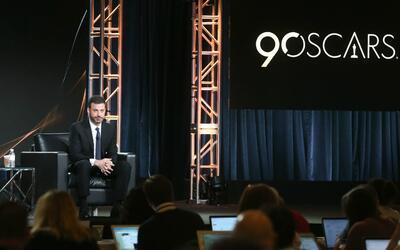 Jimmy Kimmel es el conductor oficial de la edición 90 de entrega...