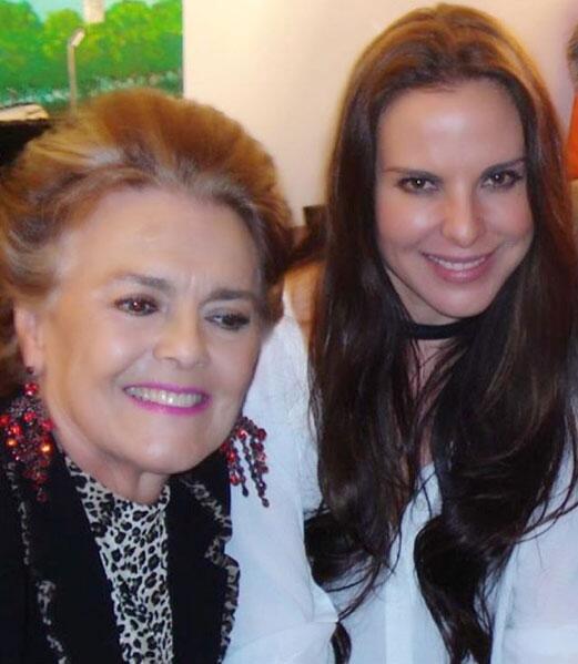 Kate del Castillo y su mamá