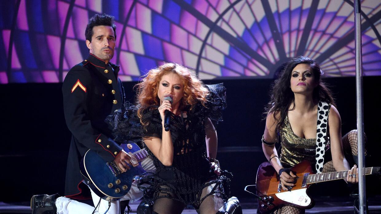 Rinden homenaje a Celia Cruz en los Latin American Music Awards GettyIma...