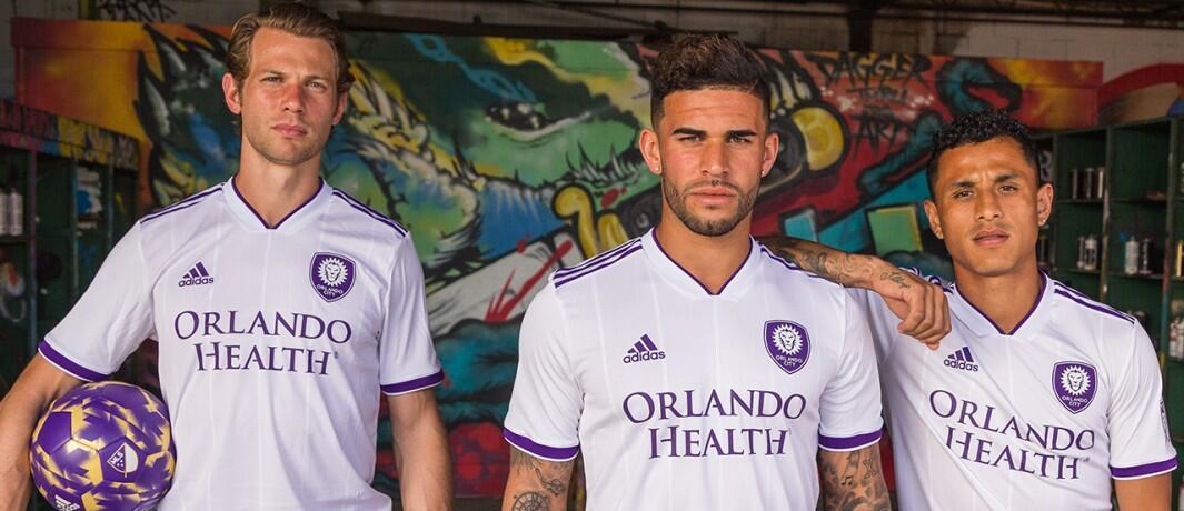 Orlando City uniforme alternativo 2018