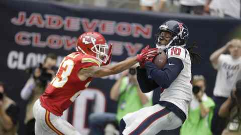 CHIEFS TEXANS