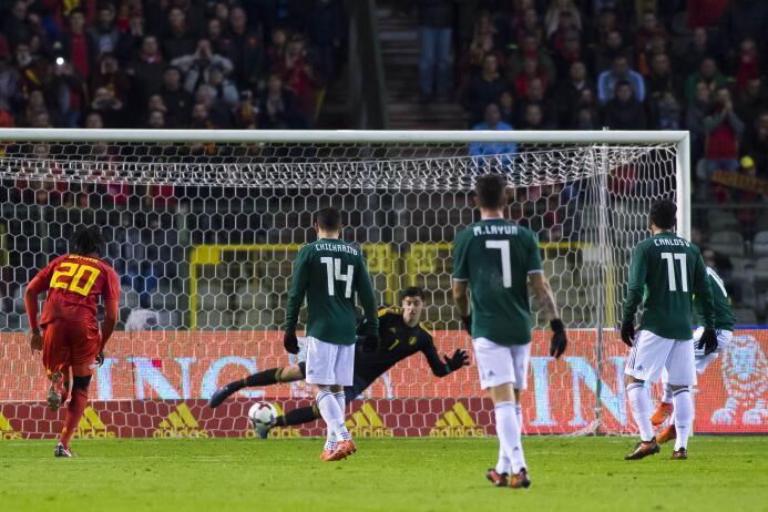 En fotos: intenso empate entre México y Bélgica 3-3 en amistoso previo a...