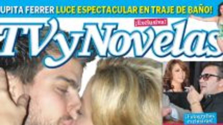 La revista TV y Novelas da un adelanto de la imagen en donde se puede ve...