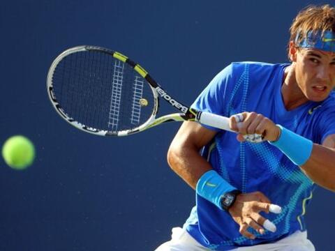 El español Rafael Nadal superó la segunda ronda al vencer...