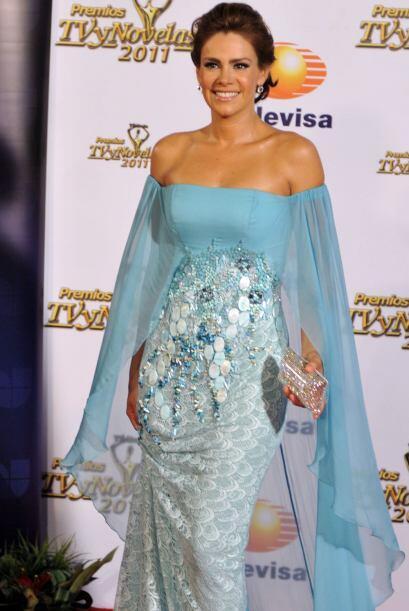 Divina y hermosa, así es siempre Luz Elena González.
